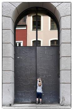 Fotoausstellung_Tür